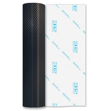 Black Carbon HEX'Press Gloss Self Adhesive Vinyl