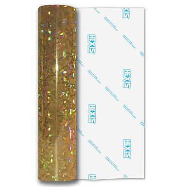 Yellow Fantasy Crystal Self Adhesive Vinyl