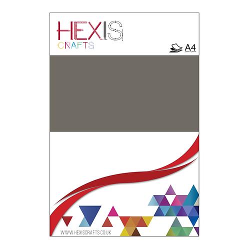 Brown Grey Gloss Premium Self Adhesive Sheets x 8