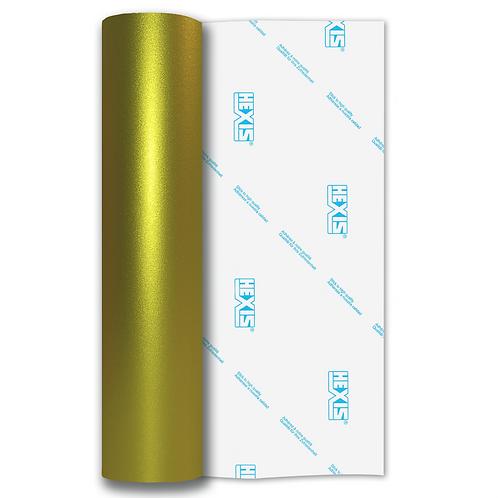 Lemon Shimmer Metal Satin Self Adhesive Vinyl