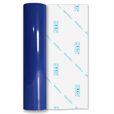 Dark Blue Standard Permanent Gloss Self Adhesive Vinyl