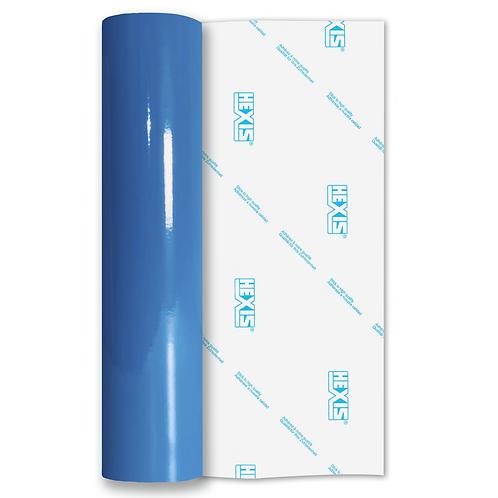 Process Blue Standard Permanent Gloss Self Adhesive Vinyl