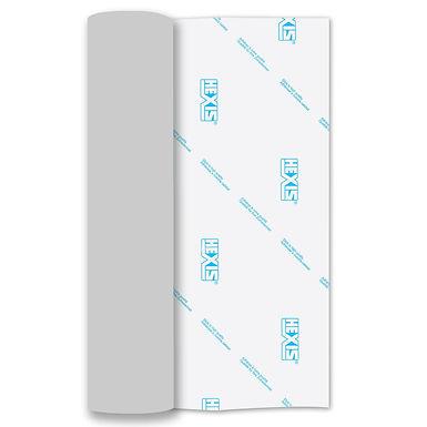 Silver Mirror PU Thin Soft Stretch Heat Transfer Flex 305mm Wide x 500mm Long