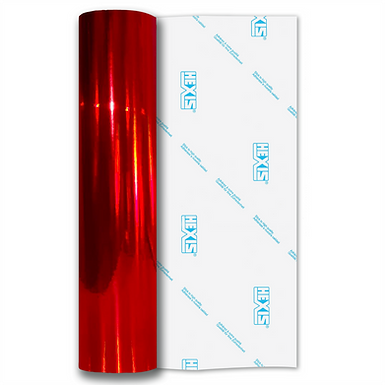 Red Rainbow Chrome Self Adhesive Vinyl