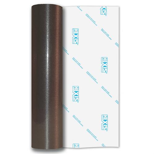 Gun Metal Coarse Brush Self Adhesive Vinyl