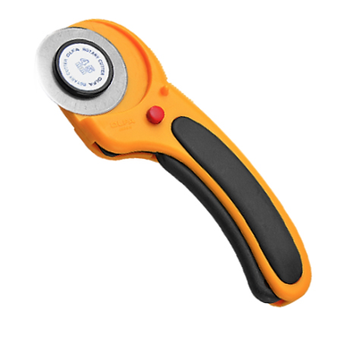 OLFA 45mm Rotary Cutter Deluxe With Blade