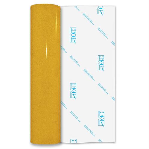 Yellow Reflective Permanent Gloss Self Adhesive Vinyl