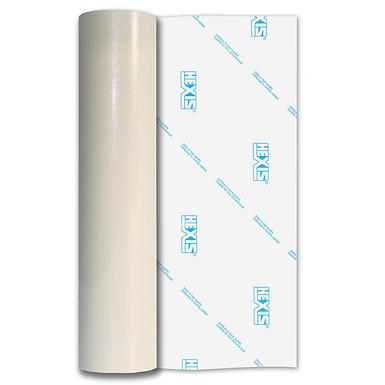 White Saturn Sparkle HEX'Press Gloss Self Adhesive Vinyl
