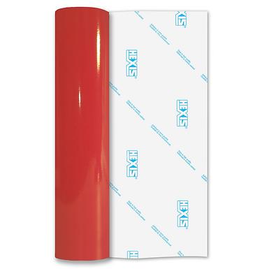 Red Reflective Permanent Gloss Self Adhesive Vinyl