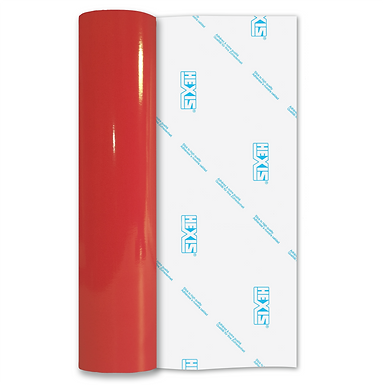 Red Reflective Permanent Gloss Self Adhesive Vinyl