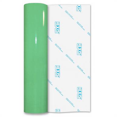 Green Reflective Permanent Gloss Self Adhesive Vinyl
