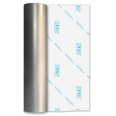 Silver Rainbow HEX'Press Self Adhesive Vinyl