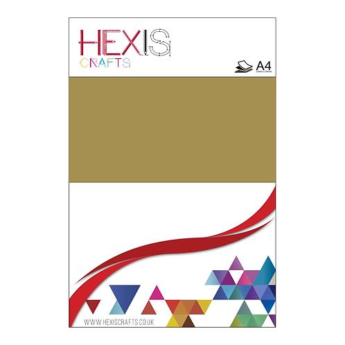 Gold Metallic RAPIDFLEX Heat Transfer Flex Sheets x 6