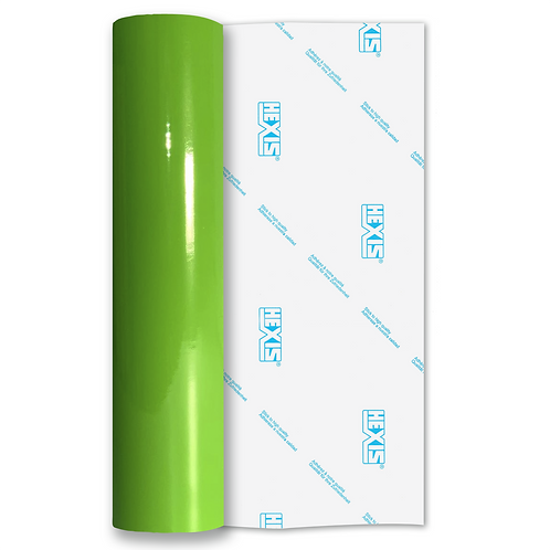 Mint Green Standard Permanent Gloss Self Adhesive Vinyl