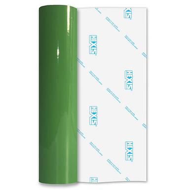 Apple Green Economy Permanent Gloss Self Adhesive Vinyl