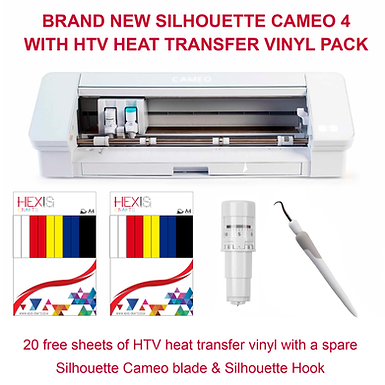 Silhouette Cameo 4 HTV Bundle