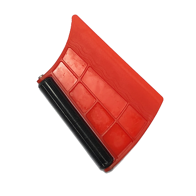 Special Plastic Squeegee With Rubber Roller