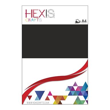Black Paint Heat Transfer Flex Sheet
