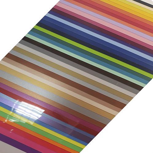 Rapidflex Heat Transfer Bundle 50 Colours A4 Sheets