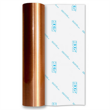 Copper Fine Brush Self Adhesive Vinyl