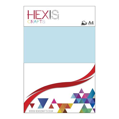 Ice Blue Heat Transfer Flex Sheets x 6