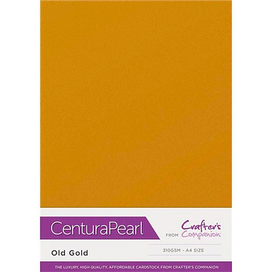 Old Gold - Centura Pearl Card Crafter's Companion
