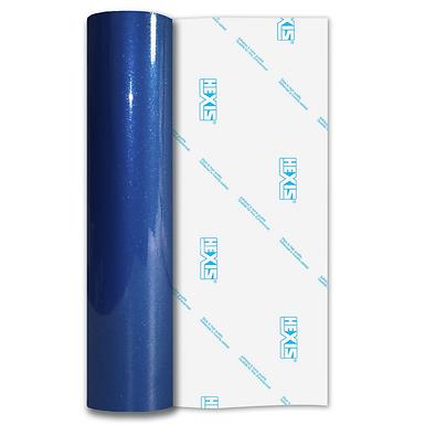 Apollo Blue Sparkle HEX'Press Gloss Self Adhesive Vinyl