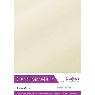 Pale Gold - Centura Pearl Metallic Card Crafter's Companion