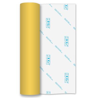 Lemon Yellow RAPIDFLEX Heat Transfer Flex 250mm Wide x 500mm Long