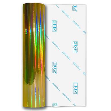 Gold Rainbow Chrome Self Adhesive Vinyl