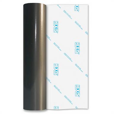 Charcoal Economy Permanent Gloss Self Adhesive Vinyl
