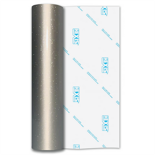 Ultra Glitter FX Silver Gloss Self Adhesive Vinyl