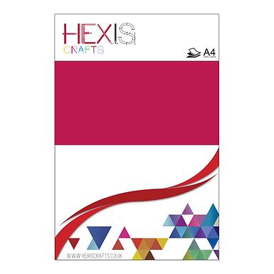 Cardinal Red Heat Transfer Flex Sheets x 6