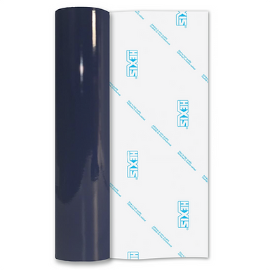 Navy Blue Premium Permanent Gloss Self Adhesive Vinyl