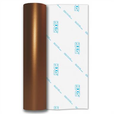 Bronze Shimmer Metal Satin Self Adhesive Vinyl