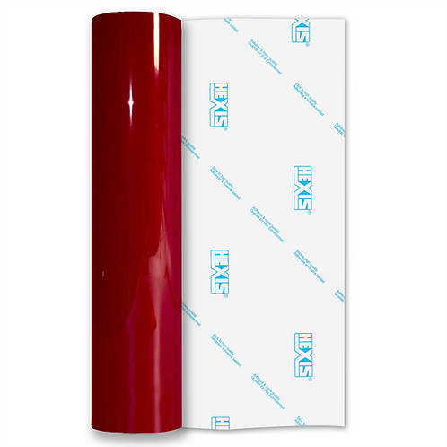 Red Transparent Self Adhesive Vinyl