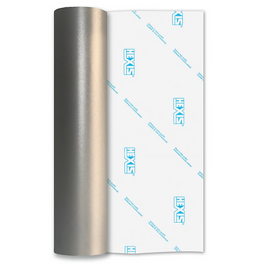 3D Textured Silver Etch Self Adhesive Vinyl