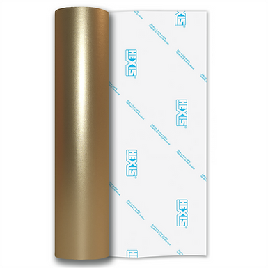 Champagne Shimmer Metal Satin Self Adhesive Vinyl