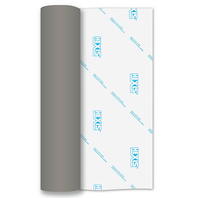 Bright Silver Metallic RAPIDFLEX Heat Transfer Flex 305mm Wide x 500mm Long