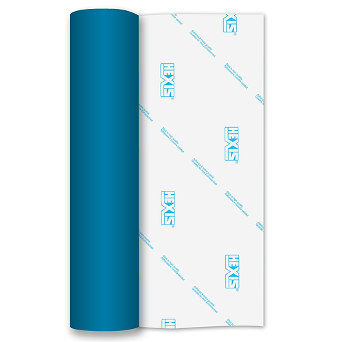 Process Blue Matt Self Adhesive Vinyl Roll 610mm x 5m