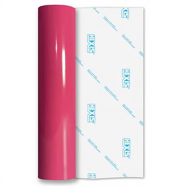 Pink Standard Permanent Gloss Self Adhesive Vinyl