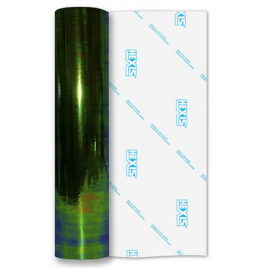 Aurora Green Gloss Self Adhesive Vinyl