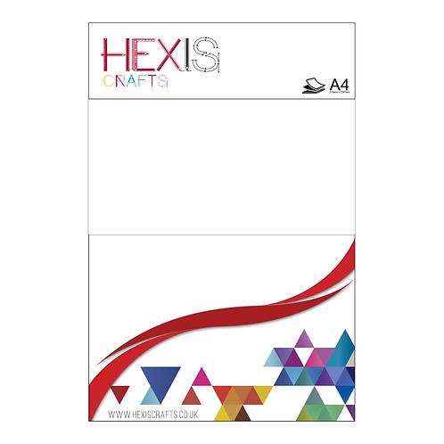 White RAPIDFLEX Heat Transfer Flex Sheets x 6