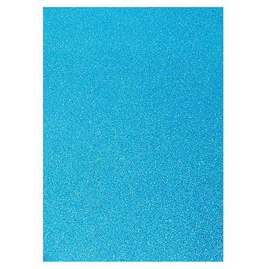 A4 Glitter Card Topaz