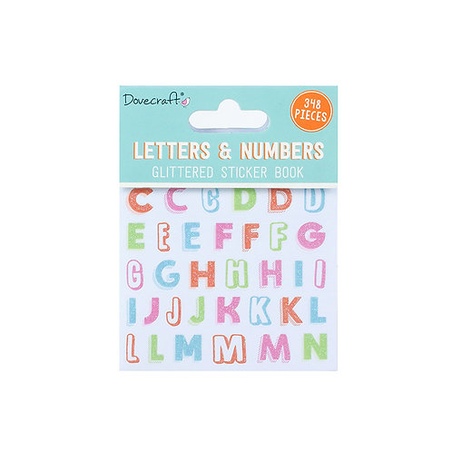 Sticker Book - Letters & Numbers