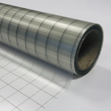 Medium Tack Clear Transfer Tape With Printed Grid