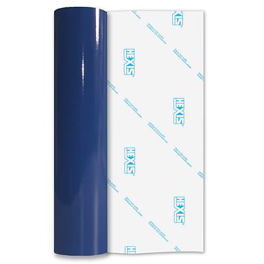 Curacao Blue Economy Permanent Gloss Self Adhesive Vinyl