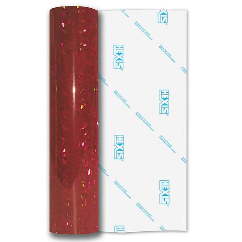 Red Fantasy Crystal Self Adhesive Vinyl