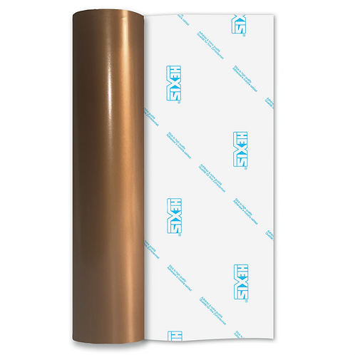 Copper Premium Permanent Gloss Self Adhesive Vinyl
