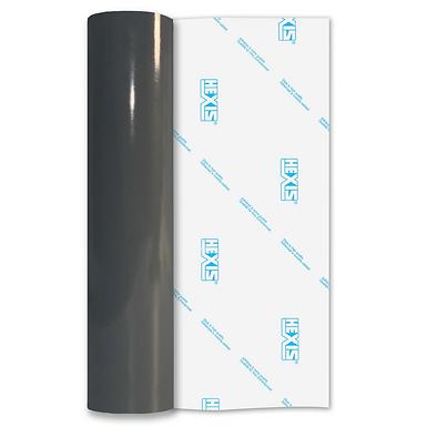Dark Grey PVC FREE Permanent Gloss Self Adhesive Vinyl